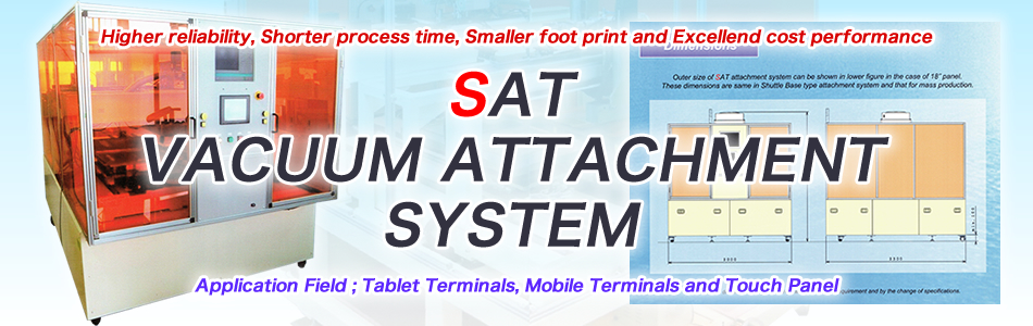 SAT VACUUM ATTACHMENT SYSTEM